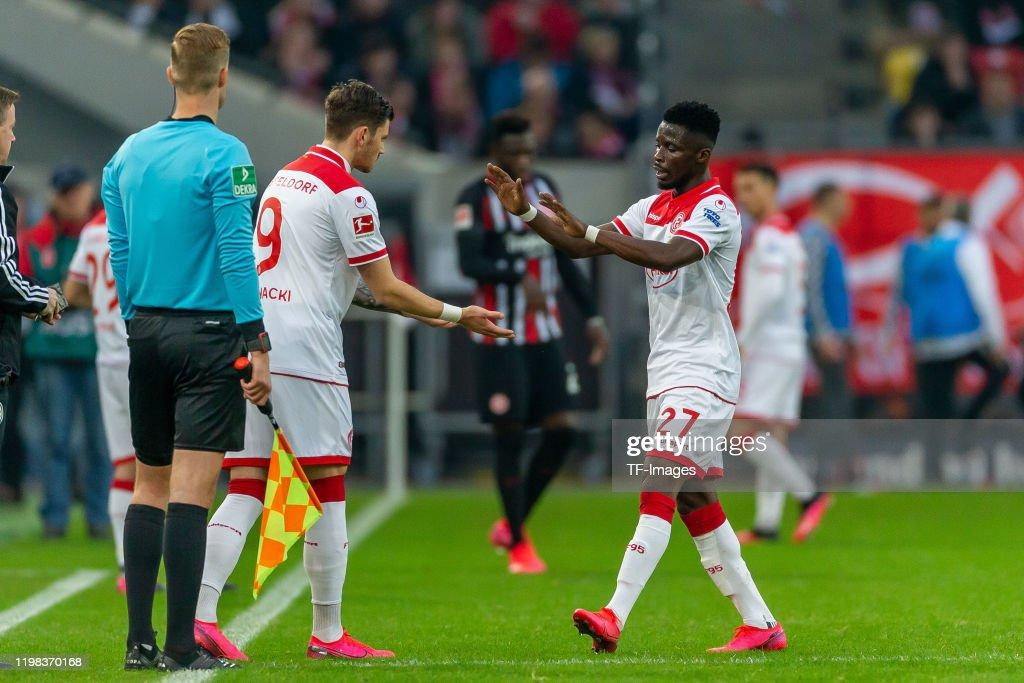 Fortuna Duesseldorf v Eintracht Frankfurt - Bundesliga : News Photo