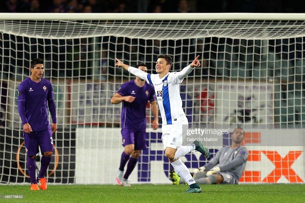 ACF Fiorentina v KKS Lech Poznan - UEFA Europa League : Foto di attualità