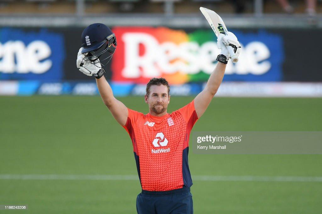 New Zealand v England - T20: Game 4 : News Photo