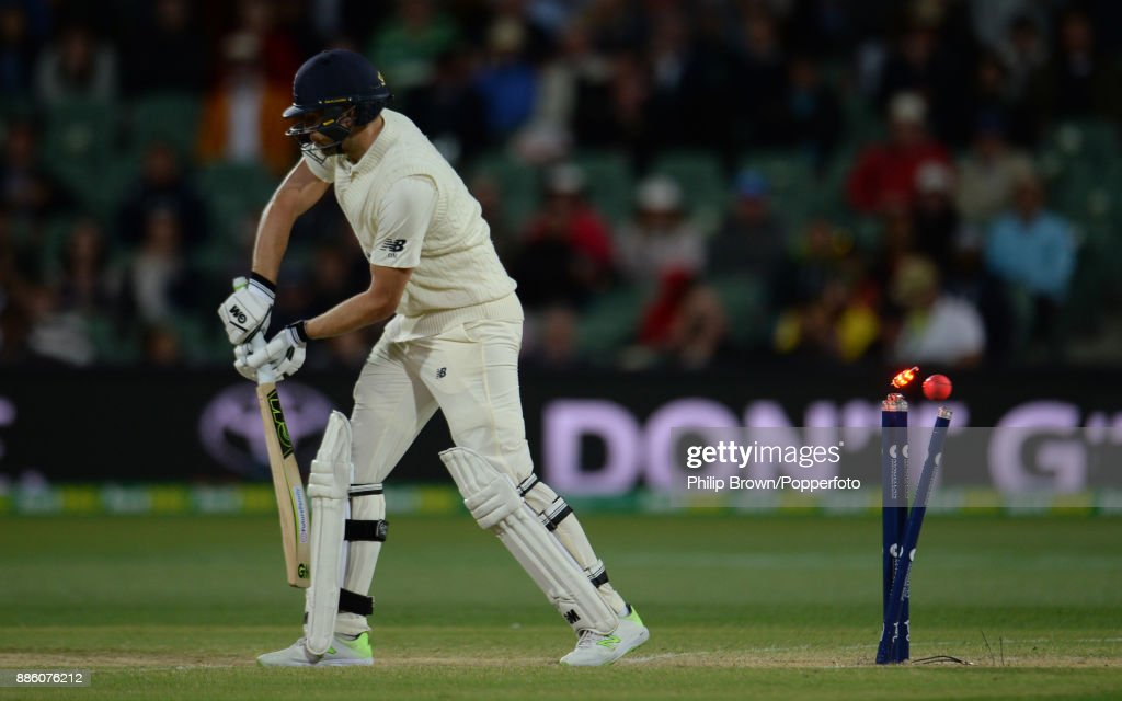 Dawid Malan of England during the fourth day of the second Ashes cricket test match between Australia and England at the Adelaide Oval on December 5, 2017 in Adelaide, Australia.