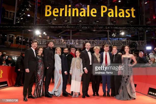 Dawid Ogrodnik , Kristin Thora Haraldsdottir , Milan Maric , Ine Marie Wilmann , Ardalan Esmail , festival director Dieter Kosslick, Emma Drogunova ,...