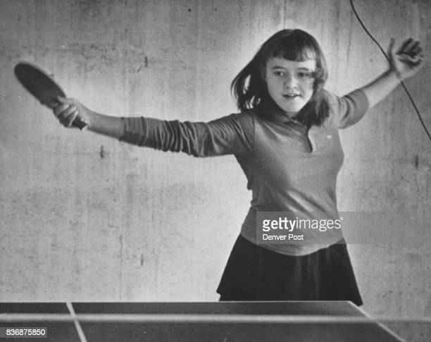 DawidowiczKasia Ind Table Tennis Backhand Return *****teamed with her father to win a single tournament Her father Bob also is an accomplished Ping...