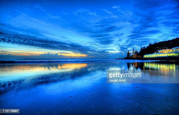 Dawn at Burleigh Heads Surf Club Gold Coast