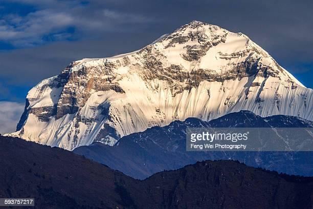 Dawn At Dhaulagiri, Annapurna Circuit, Nepal