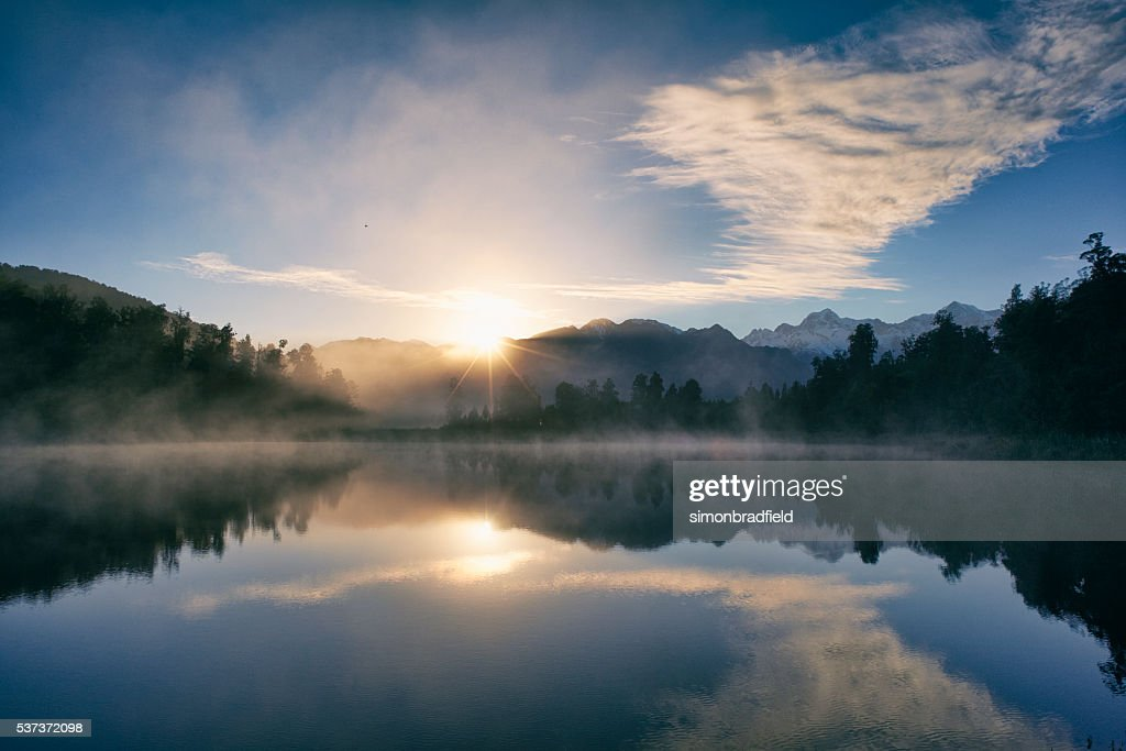 Aube sur le Lac Matheson : Photo