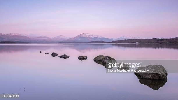 Dawn At Loch Lomond, Heaven's Stepping Stones