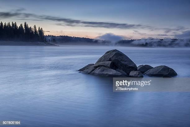 Dawn at Shaver Lake, CA