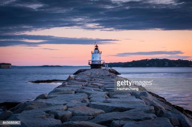 Dawn At Spring Point Ledge Lighthouse