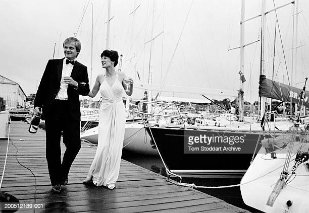 Dawn, Aug 1986, morning after the annual Cowes Week Ball.