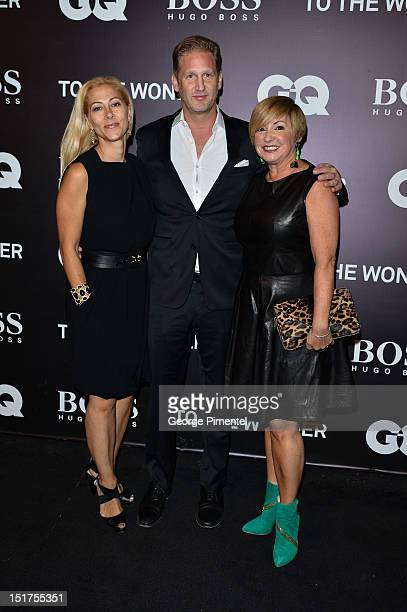 Dawn Bellini Ward Simmons VP of marketing HUGO BOSS USA and Lanita Layton managing director of HUG BOSS Canada attends HUGO BOSS/GQ host 'To The...