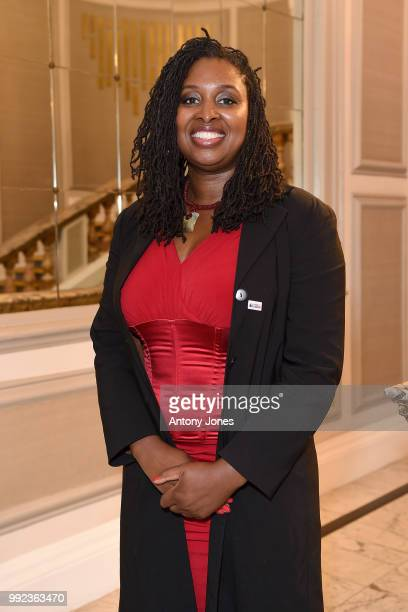 Dawn Butler attends the Pride In London Gala Dinner 2018 at The Grand Connaught Rooms on July 5 2018 in London England