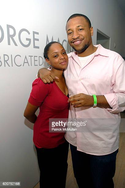 """Dawn Chandler and guest attend GENERATION OBAMA and HARRY STENDHAL host """"ART CRAWL for OBAMA"""" After Party at Maya Stendhal Gallery on July 23, 2008..."""