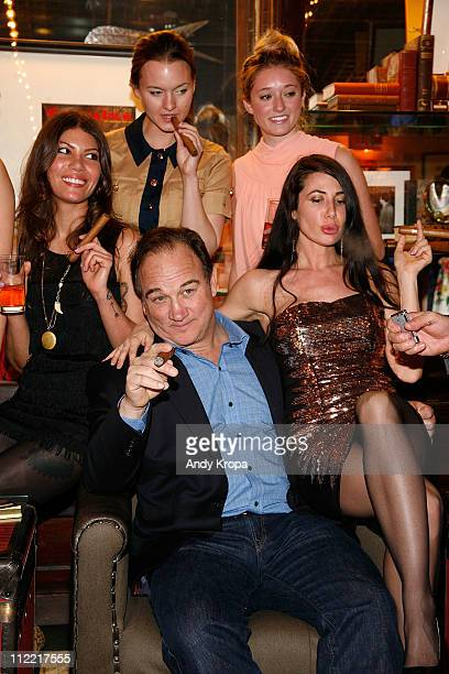 Dawn Dunning, Jim Belushi, Tanya Fischer, Ashley Stanton and Lynne Marie Volk attend the Creative Coalition & friends celebration of the Broadway...
