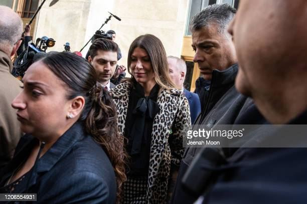 Dawn Dunning leaves New York Criminal Court following the sentencing of Hollywood mogul Harvey Weinstein on March 11, 2020 in New York City. Harvey...