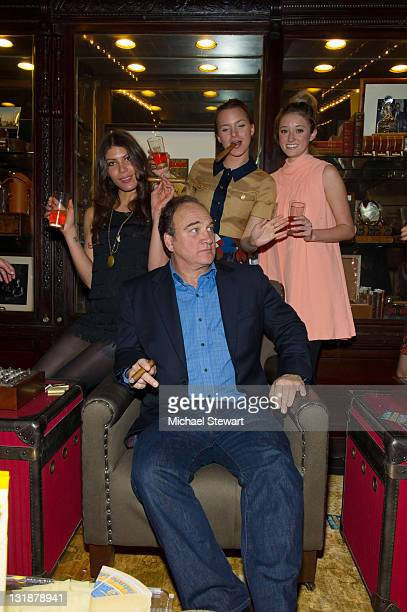 Dawn Dunning of Bambi Killers, actor Jim Belushi, actress Tanya Fischer and Ashley Stanton attend the Creative Coalition and friends' celebration of...