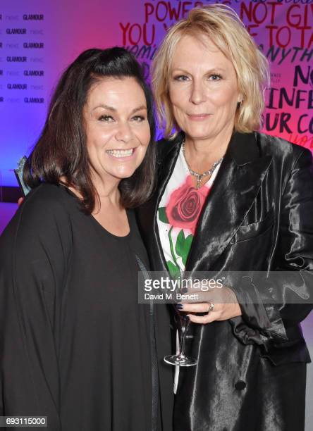 Dawn French and Jennifer Saunders attend the Glamour Women of The Year Awards 2017 in Berkeley Square Gardens on June 6 2017 in London England