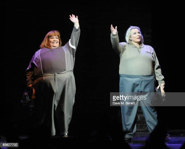 Dawn French and Jennifer Saunders perform in the final UK performance of French Saunders' 'Still Alive' in aid of Comic Relief and Chicks charities...