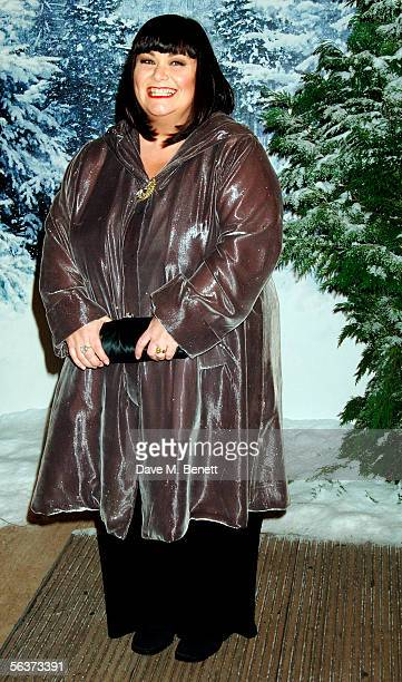 Dawn French arrives at the Royal Film Performance and World Premiere of 'The Chronicles Of Narnia' at the Royal Albert Hall on December 7 2005 in...