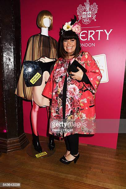 Dawn French attends the after party of the world premiere of 'Absolutely Fabulous The Movie' at Liberty on June 29 2016 in London England