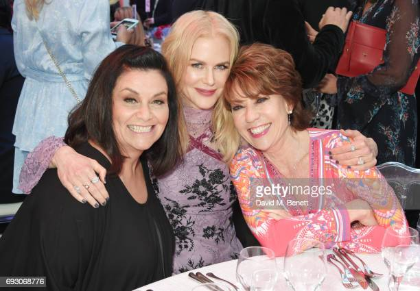 Dawn French Nicole Kidman and Kathy Lette attend the Glamour Women of The Year Awards 2017 in Berkeley Square Gardens on June 6 2017 in London England