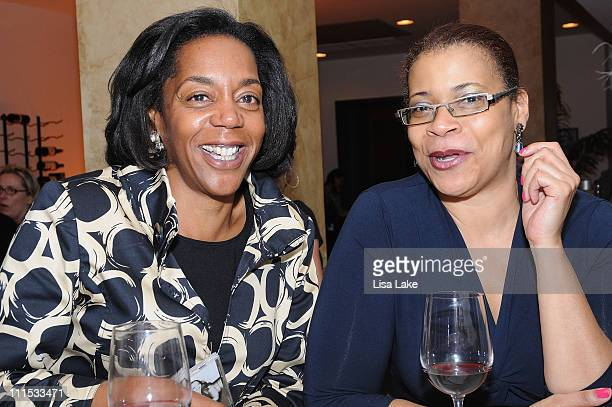 Dawn Frisby Byers and Karen Lewis attend Grammy In The Mix on September 30 2008 in Philadelphia Pennsylvania