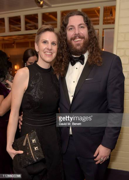 Dawn Gough and Adam Gough attend the Netflix 2019 BAFTA AWARDS After Party at Chiltern Firehouse on February 10, 2019 in London, England.