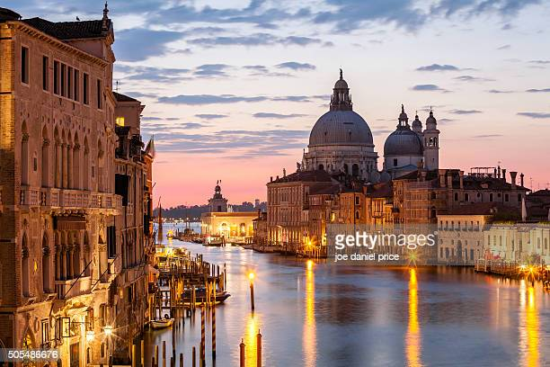 Dawn, Grand Canal, Venice, Italy