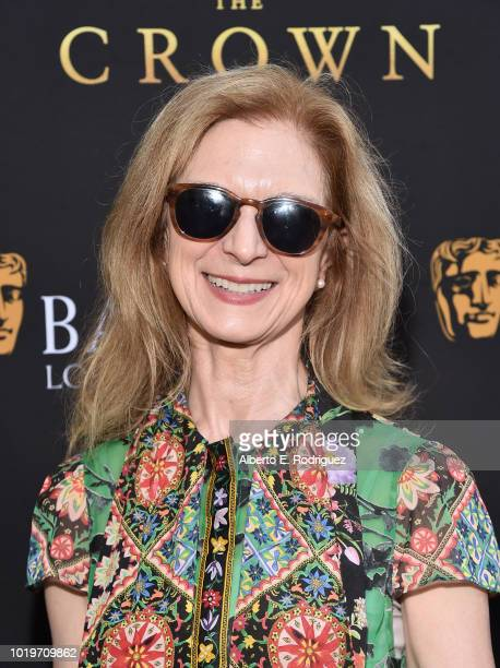 CEO Dawn Hudson attends the BAFTALA Summer Garden Party at The British Residence on August 19 2018 in Los Angeles California