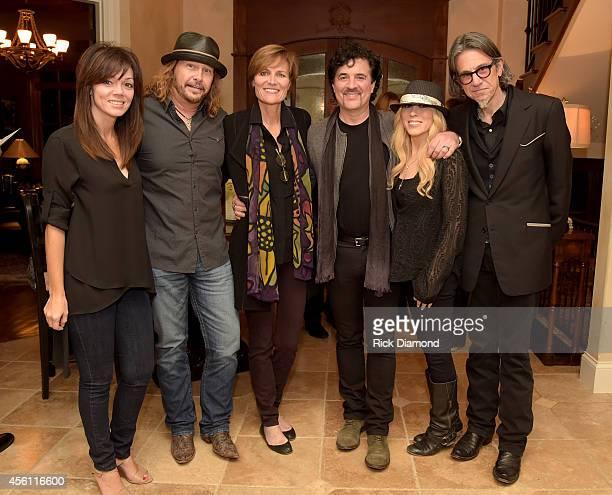 Dawn Hull Recording Academy's George Flanigan Grammy Foundation/MusiCares Kristen Madsen Big Machine Label Groups Scott Borchetta and Sandi Spika...