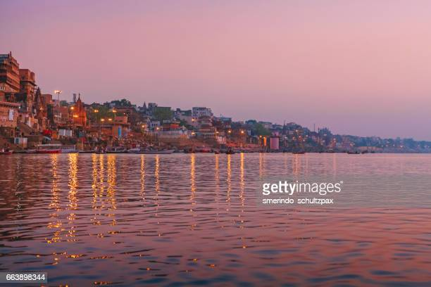 Dawn in Ganges River