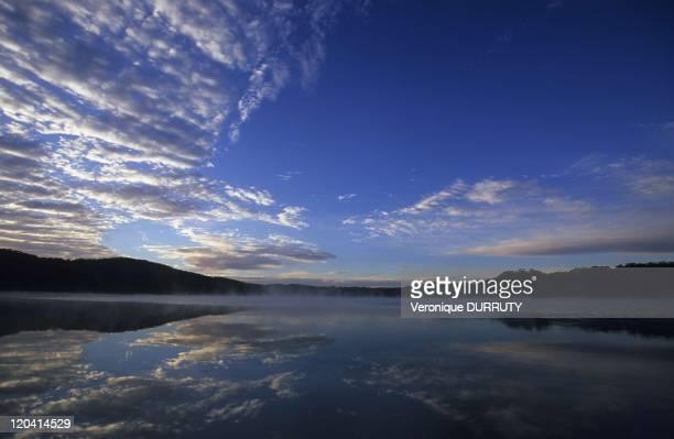 Dawn in Mac Kenzie lake Fraser island Queensland Australia in 2006 Fraser Island is the largest sand island in the worldWorld heritage listed