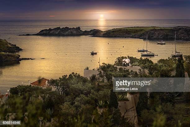 Dawn in Port Lligat, Cadaques, Spain