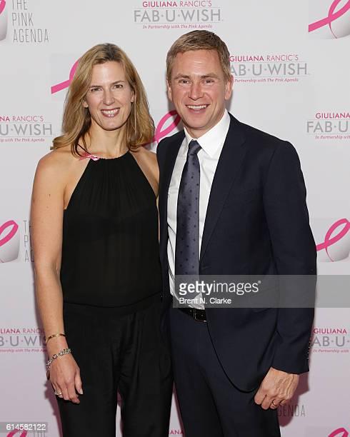 Dawn Kiernan and Pat Kiernan attend The Pink Agenda's 2016 Gala held at Three Sixty on October 13 2016 in New York City