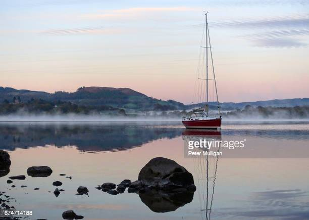 Dawn light on Lake Windermere