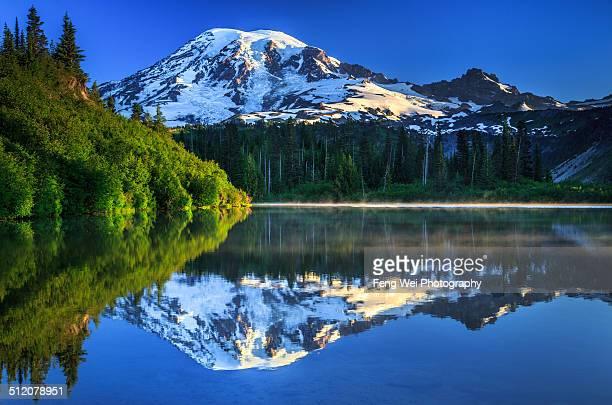 Dawn Light Over Mount Rainier