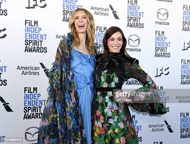 Dawn Luebbe and Jocelyn DeBoer attend the 2020 Film Independent Spirit Awards on February 08 2020 in Santa Monica California