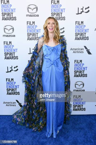 Dawn Luebbe attends the 2020 Film Independent Spirit Awards on February 08 2020 in Santa Monica California