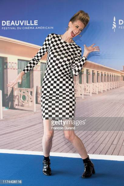 Dawn Luebbe attends the Call Jocelyn Deboer Dawn Luebbe photocall during the 45th Deauville American Film Festival on September 13 2019 in Deauville...