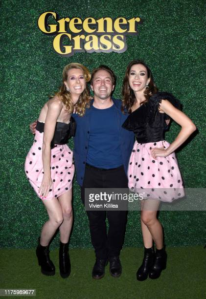 Dawn Luebbe Beck Bennett and Jocelyn DeBoer attend LA Special Screening Of IFC Midnight's GREENER GRASS at The Montalban Theater on October 14 2019...