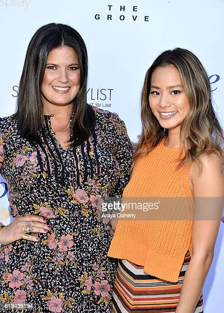Dawn McCoy and Jamie Chung attend the Simply Stylist Sessions Hosted by Jamie Chung and Dawn McCoy at The Whisper Lounge on October 8 2016 in Los...