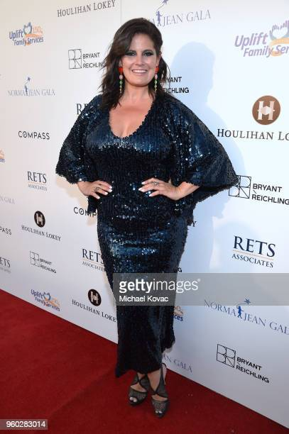 Dawn McCoy attends Uplift Family Services at Hollygrove's 7th Annual Norma Jean Gala Presented By Houlihan Lokey on May 19 2018 in Hollywood...