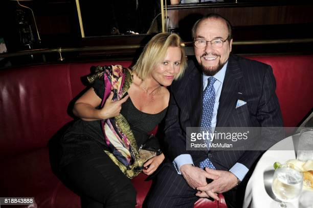 Dawn McDaniel and James Lipton attend CHRISTIE'S Green Auction After Party Hosted by LA MER at Monkey Bar on April 22nd 2010 in New York City