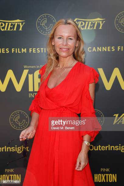 Dawn McDaniel attends as WIFT International with Variety Alliance of Women Directors host a cocktail party during the 71st Cannes Film Festival...