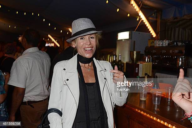 Dawn McDaniel attends the Fete des Tuileries' Opening Party Hosted By Marcel Campion At Jardin des Tuileries on June 27 2014 in Paris France