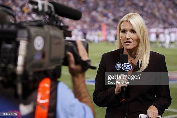 Dawn Mitchell reports from the sidelines for Fox Sports as the Minnesota Vikings defeated the Atlanta Falcons 243 at the Metrodome on September 9...