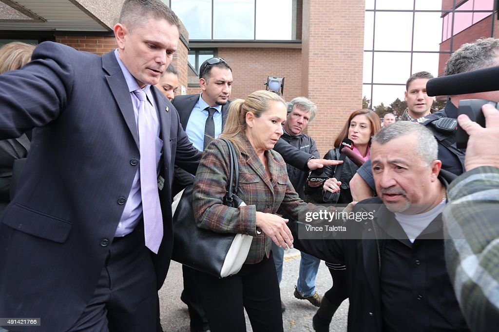 Marco Muzzo's Mother Dawn Muzzo Outside Courthouse : ニュース写真