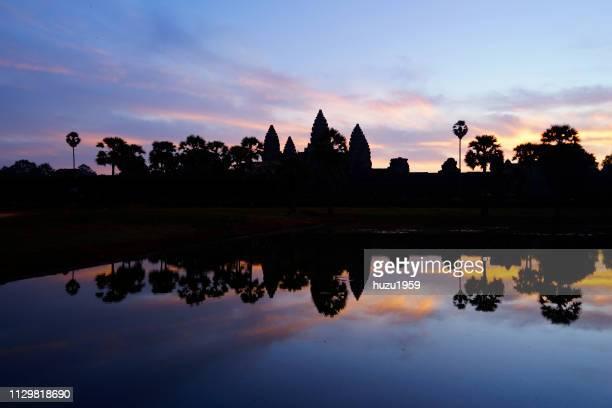 Dawn of Angkor Wat, Siem Reap, Cambodia