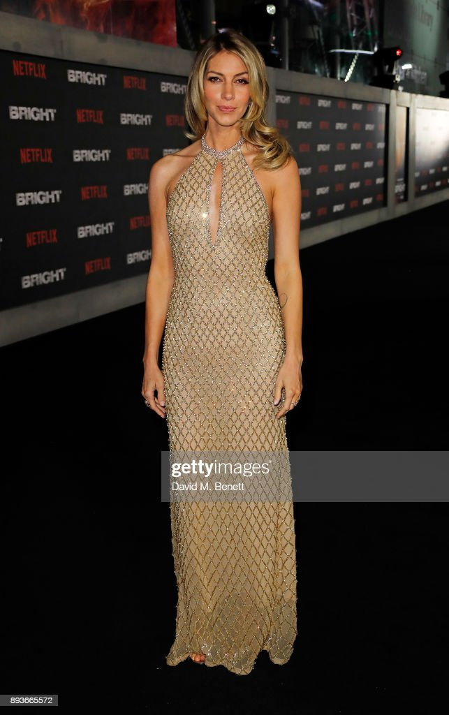 Dawn Olivieri attends the European Premeire of 'Bright' held at BFI Southbank on December 15, 2017 in London, England.