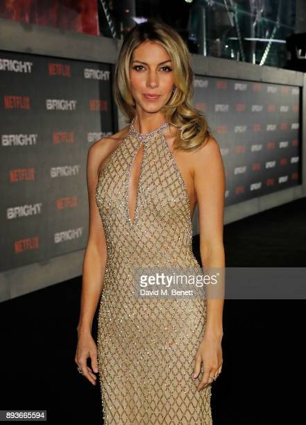 Dawn Olivieri attends the European Premeire of 'Bright' held at BFI Southbank on December 15 2017 in London England