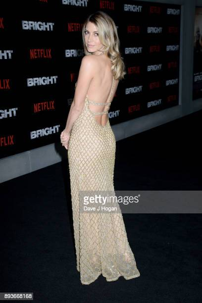 Dawn Olivieri attends the European Premiere of 'Bright' held at BFI Southbank on December 15 2017 in London England